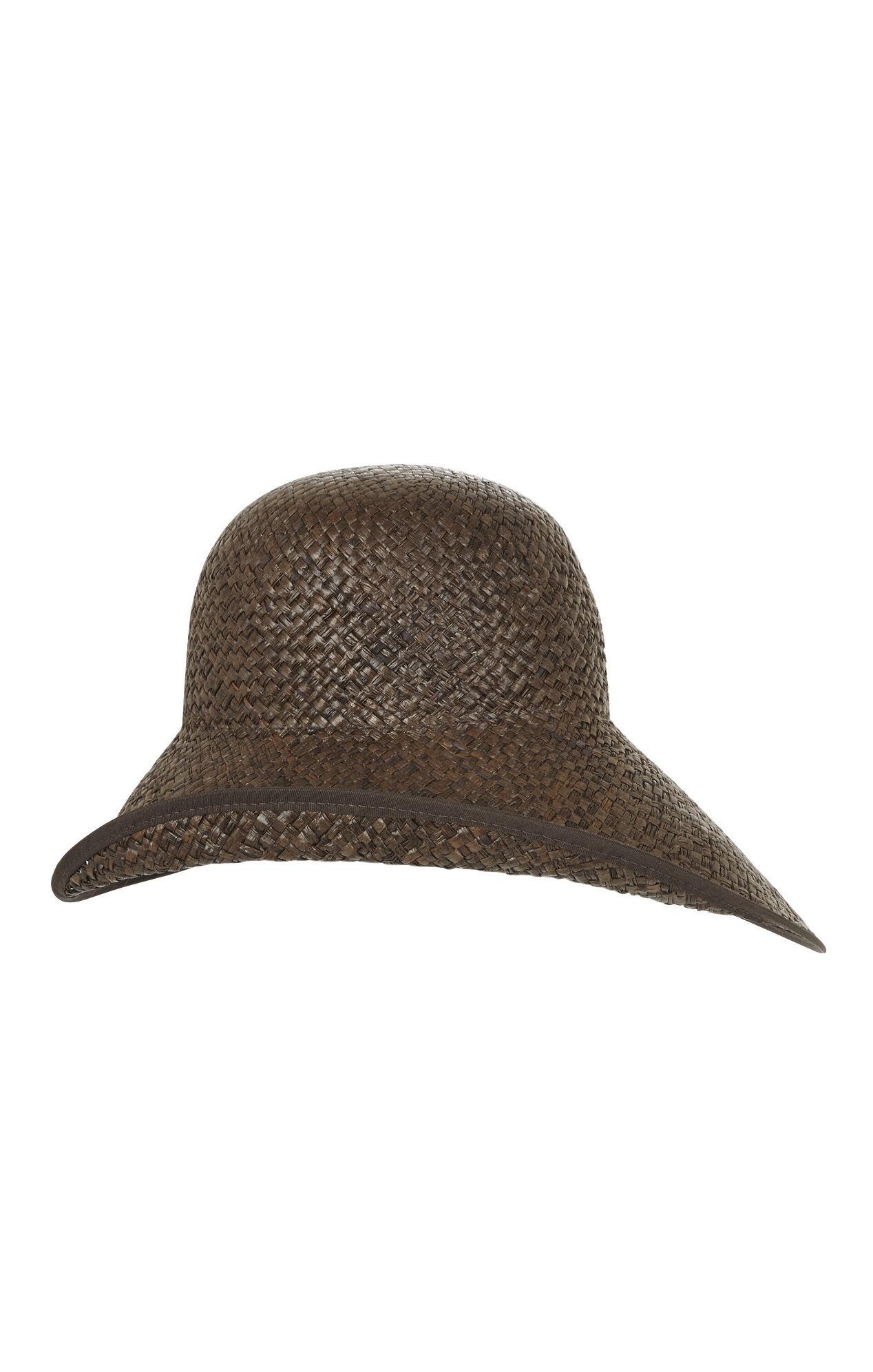 Asymmetrical Brim Hat