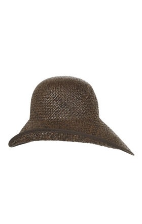 Asymmetrical Brim Hat