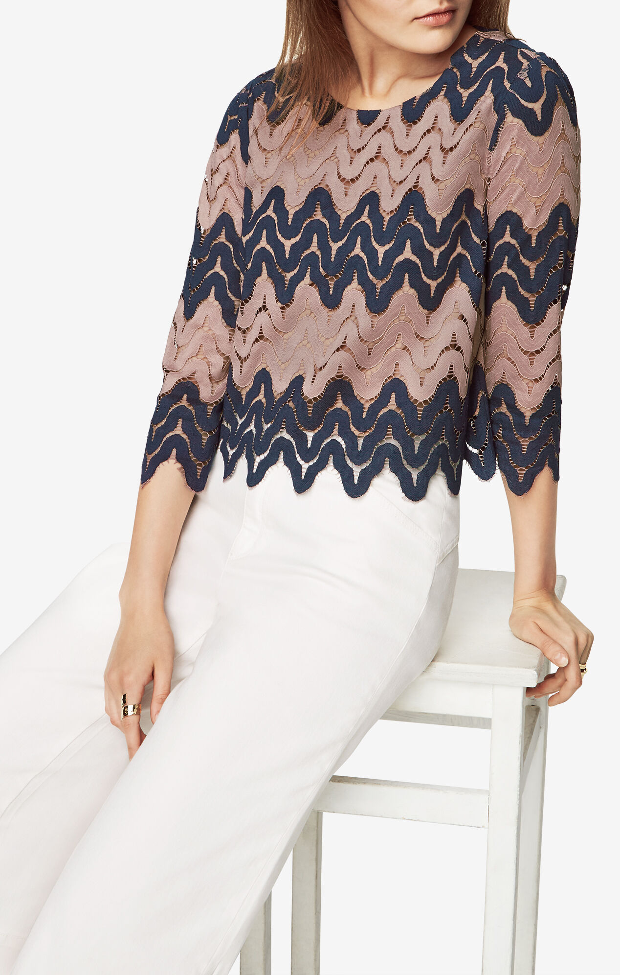 Seline Lace Top