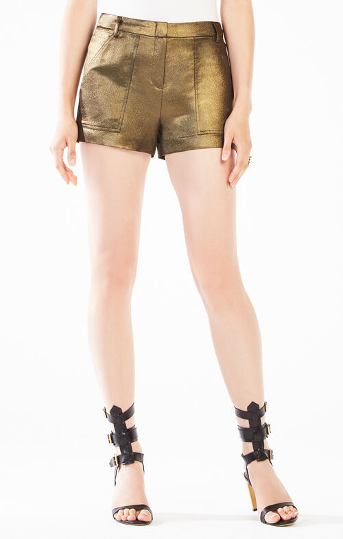 Camryn Metallic Cargo Short