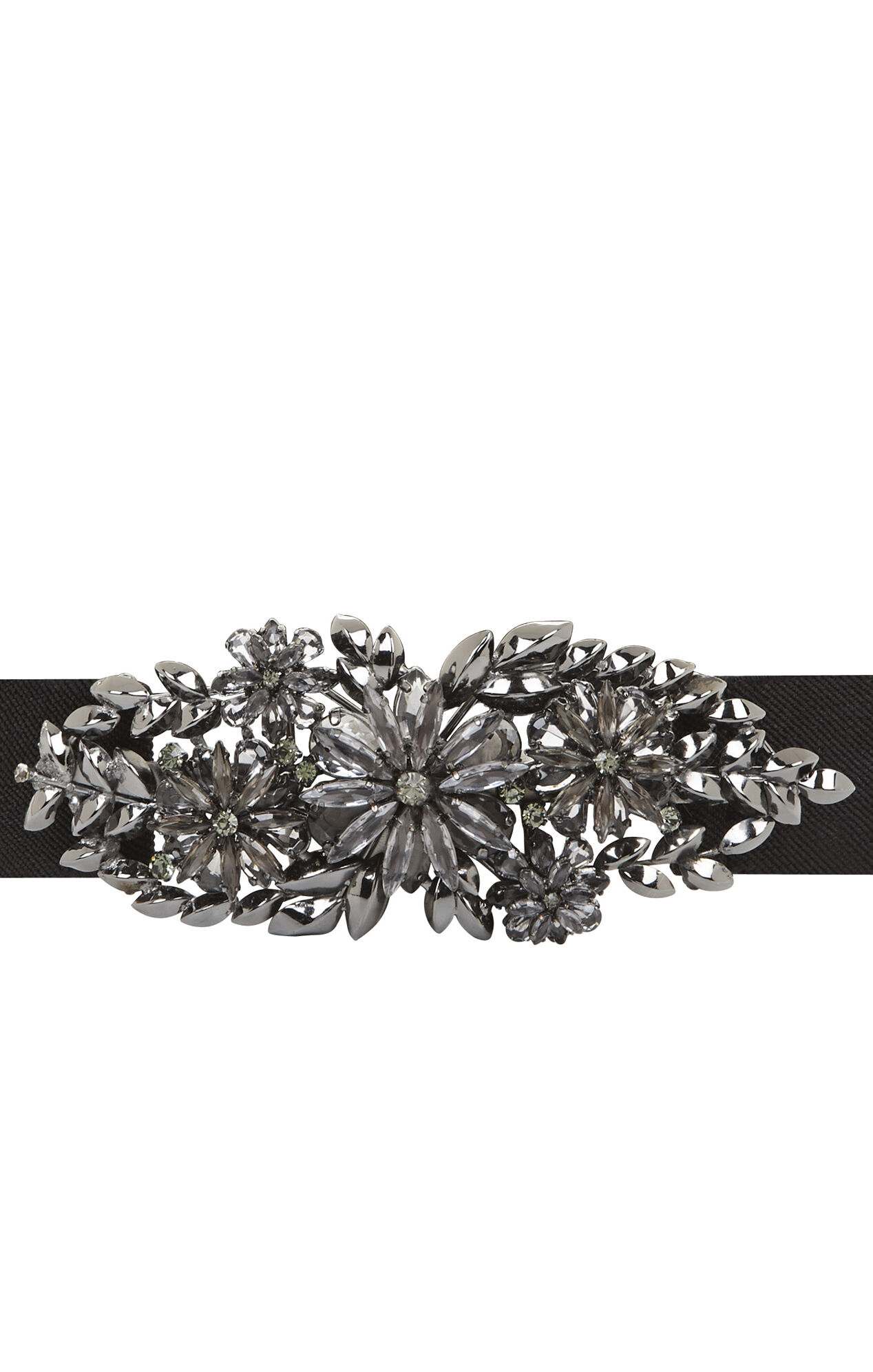 Floral Stone Waist Belt