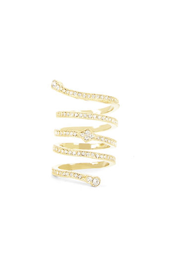 Pave Looped Ring