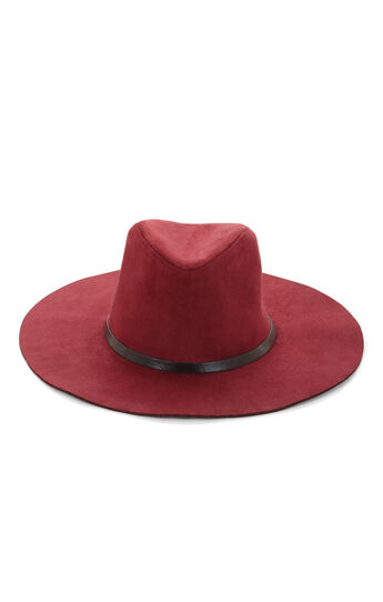 Suede Panama Hat