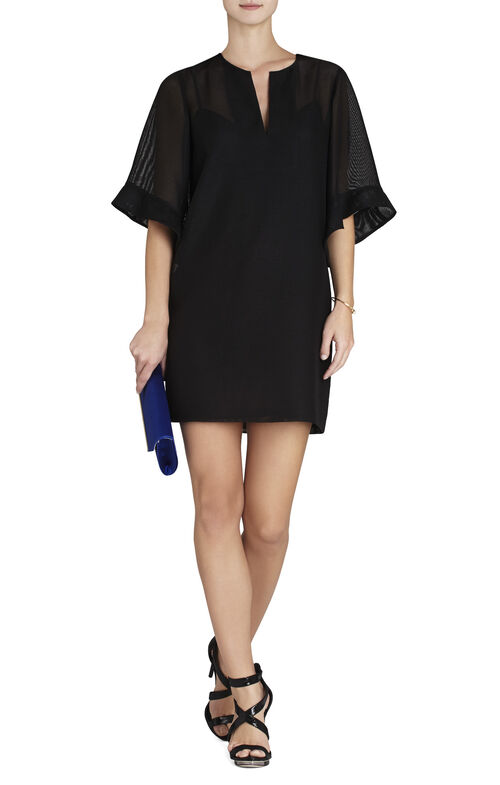 Tati Ruffle-Sleeve Dress