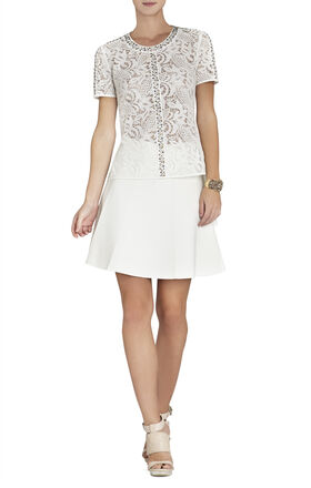 Harlow Lace-Embellished T-Shirt