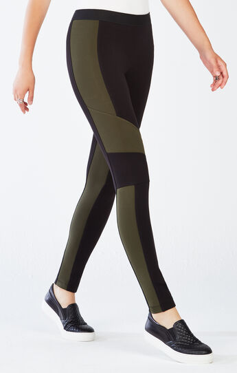 Jeremiah Blocked Ponte Legging