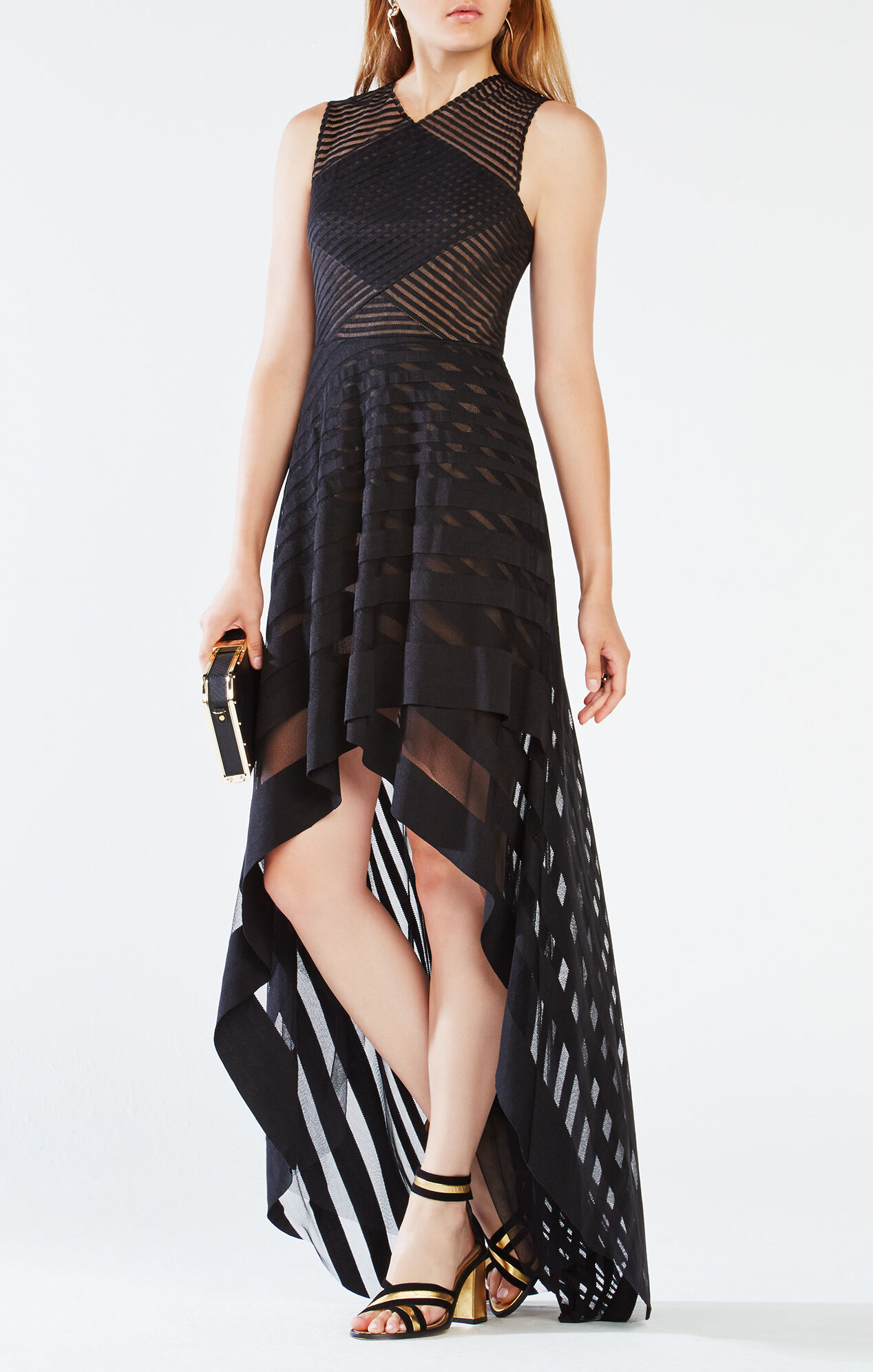 Keanna High Low Lace Dress