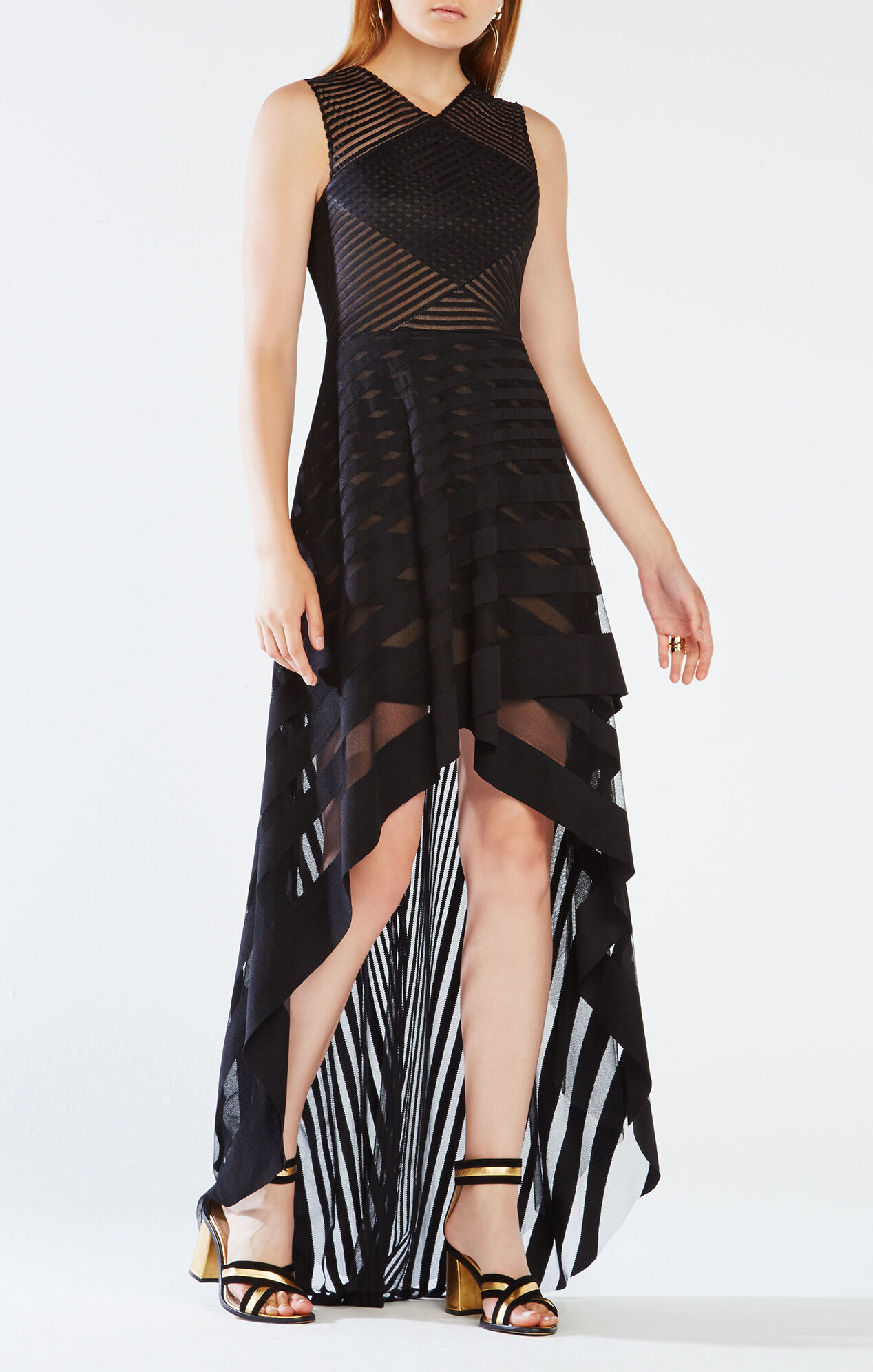 Keanna High-Low Lace Dress