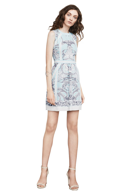 Donatela Paisley-Print Dress