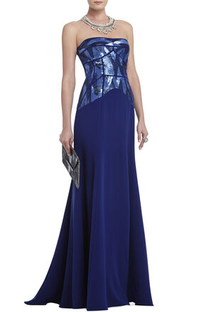 Nina Strapless Gown