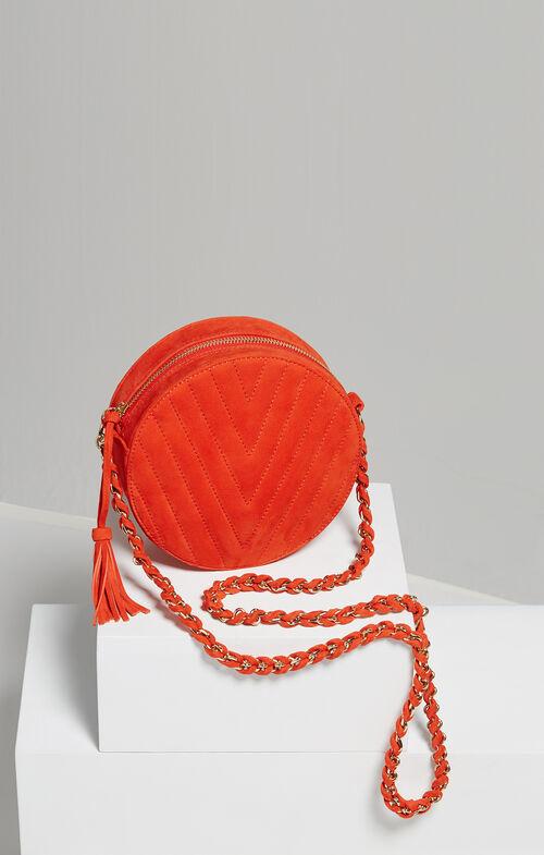 Chantel V-Quilt Round Bag