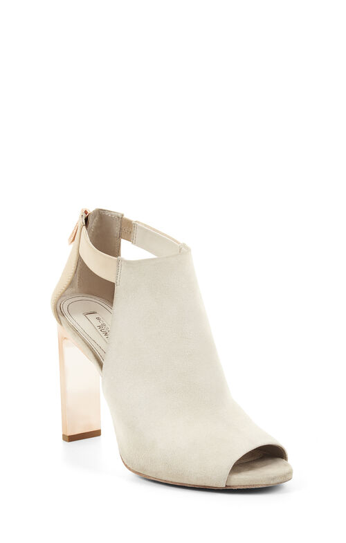 Runway Devon High-Heel Peep-Toe Sandal
