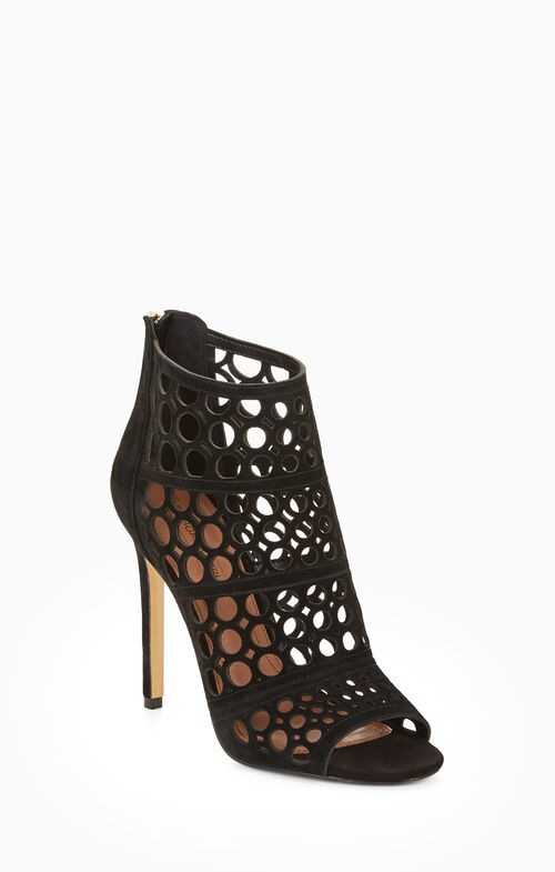 Abay Cage Suede Sandal