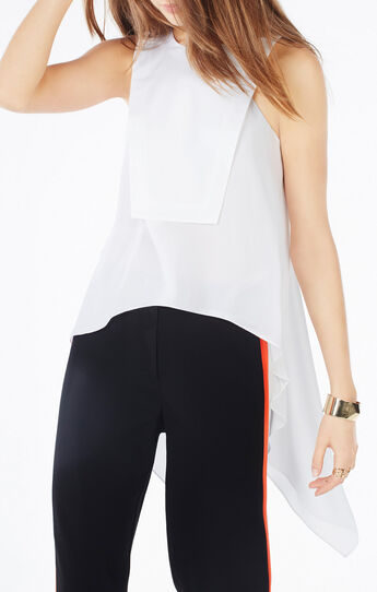 Anetta Open-Back High-Low Top