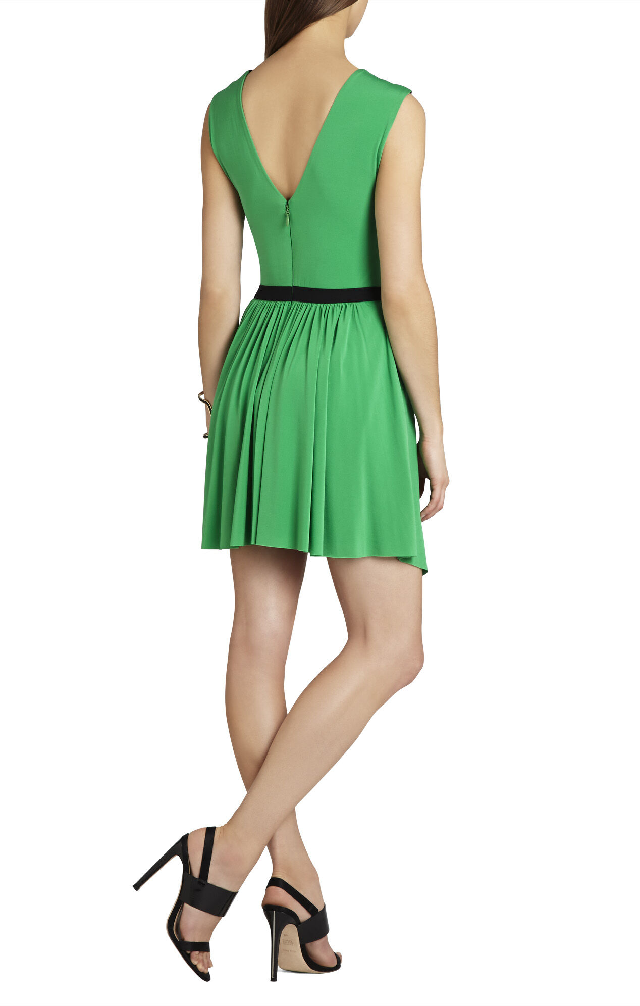 Olyvia Sleeveless Wrap Dress