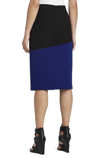 Jowell Color-Blocked Pencil Skirt