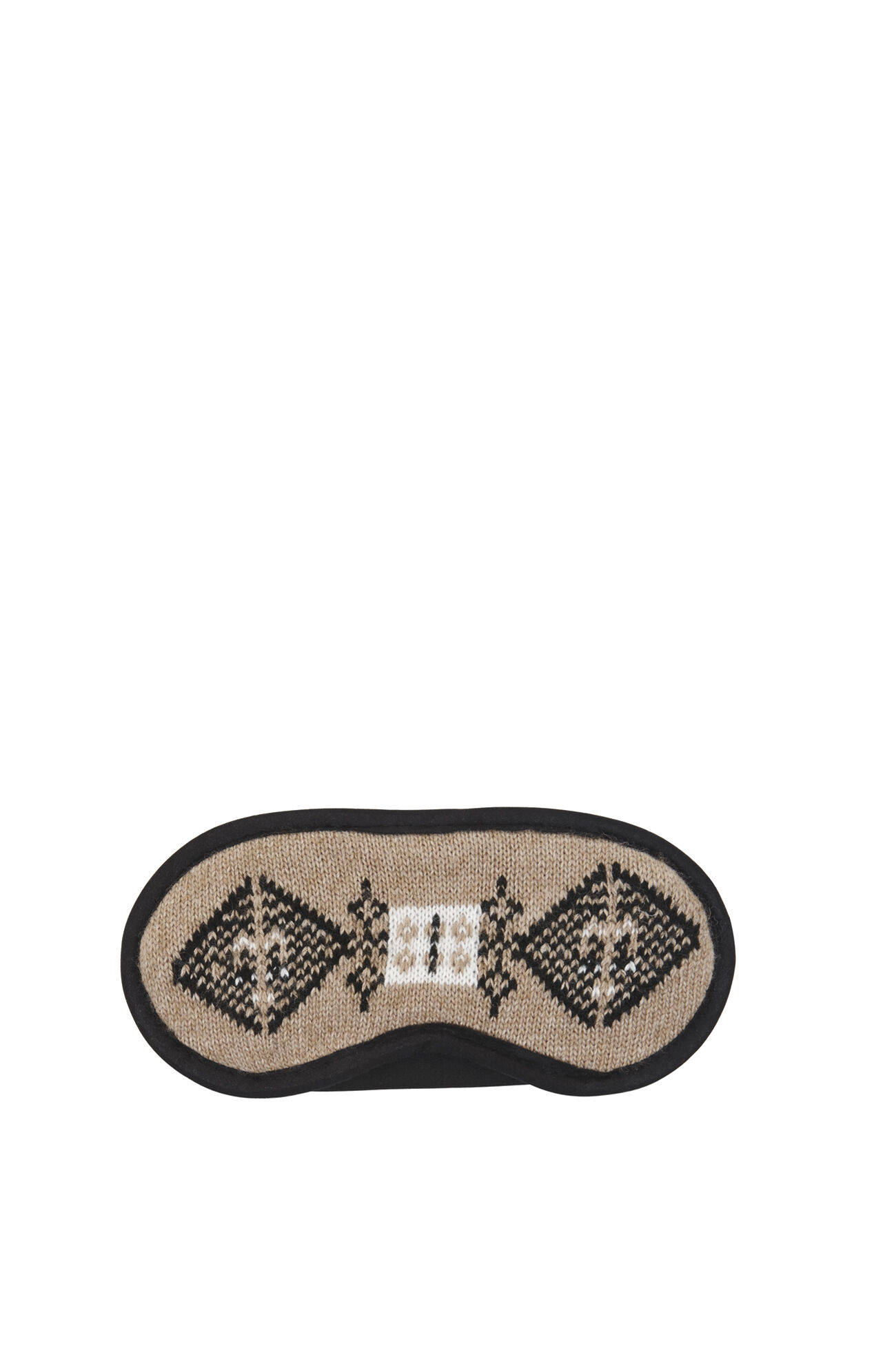 Jacquard Pillow, Eye Mask and Scarf Set