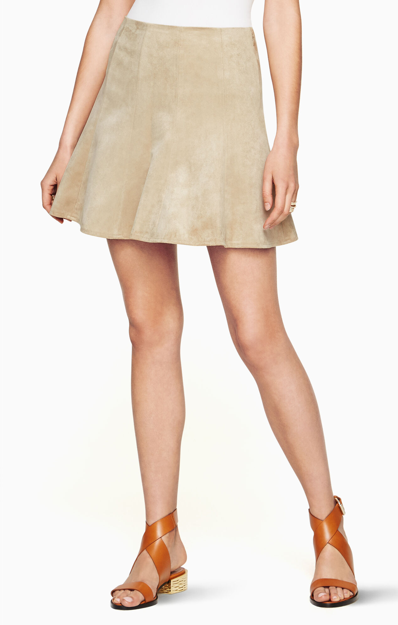 Faux Suede Skirt 14