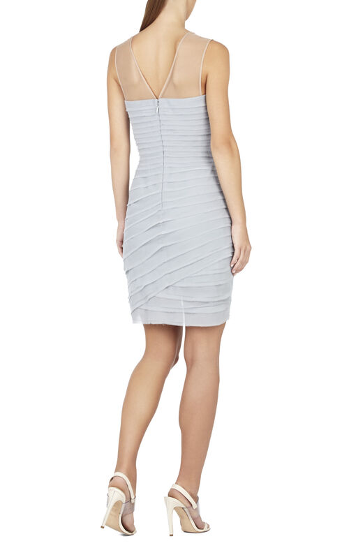 Maia Sleeveless Asymmetrical Short Dress
