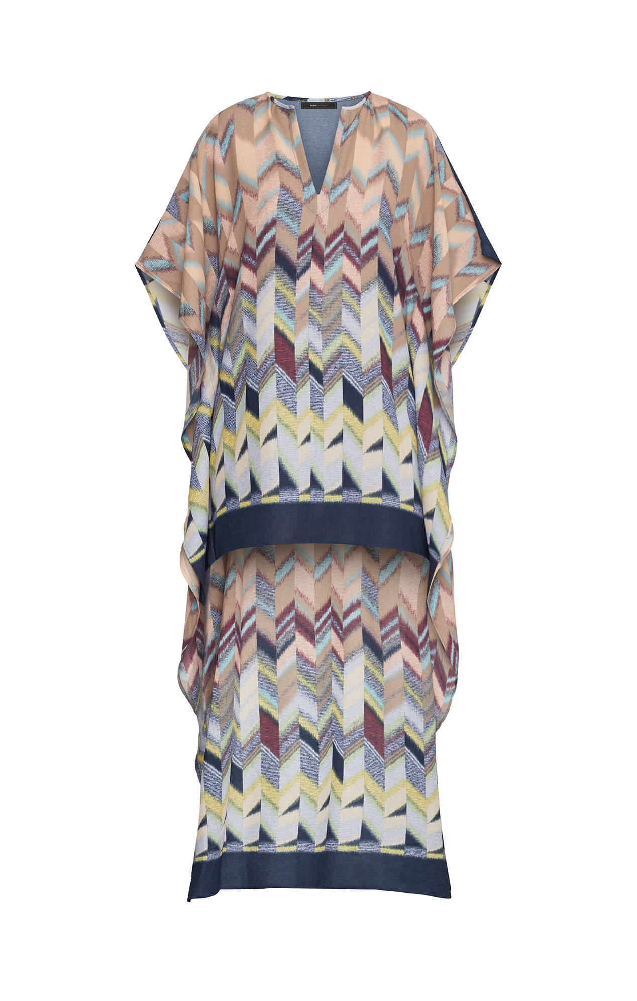 Cristen Printed High-Low Dress
