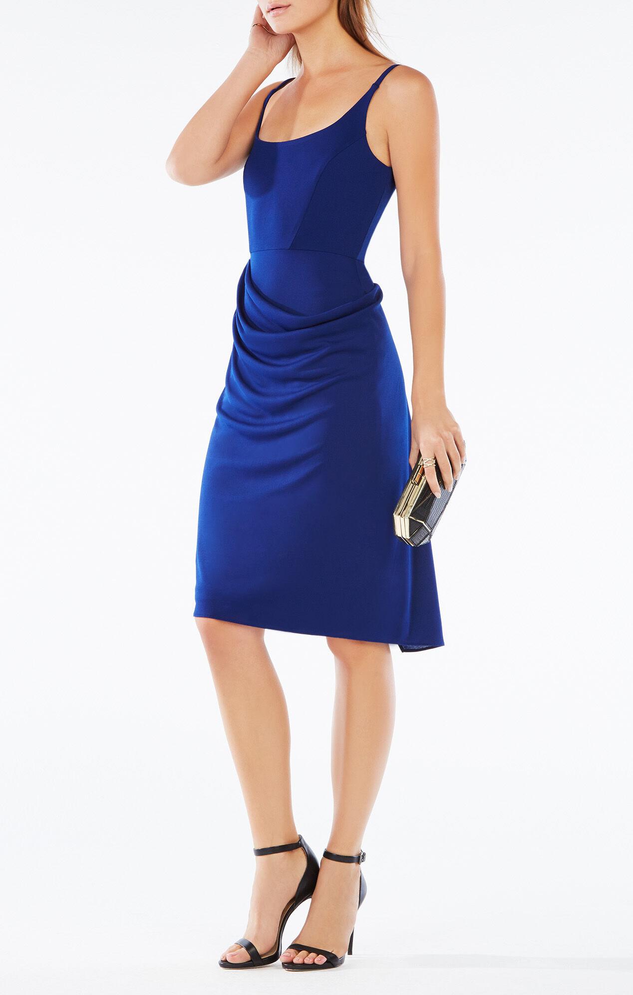 Stelah Sleeveless Draped Dress