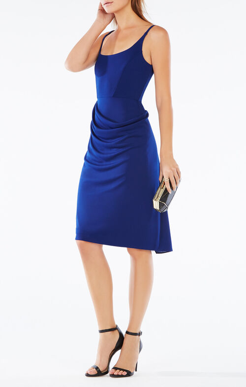 Stelah Sleeveless Draped Dress