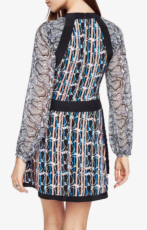 Tallulah Paisley Printed Dress