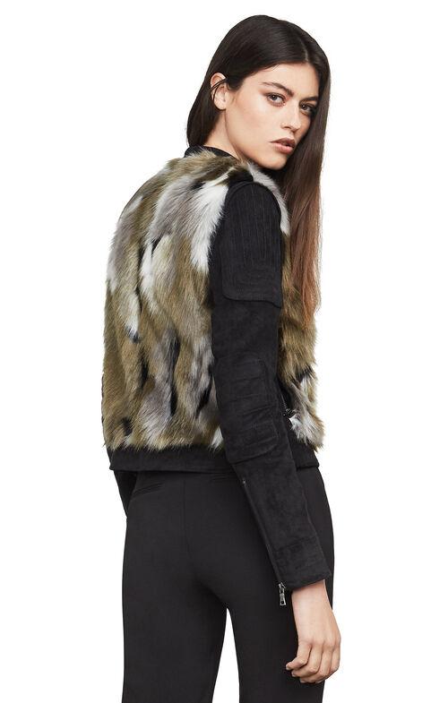 Dimitri Faux Fur Combo Jacket