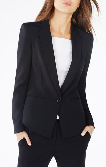 Bradd High-Low Blazer