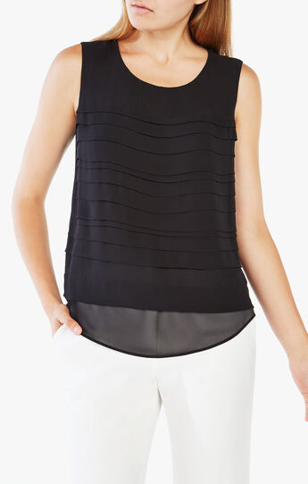 Opal Pleated Top