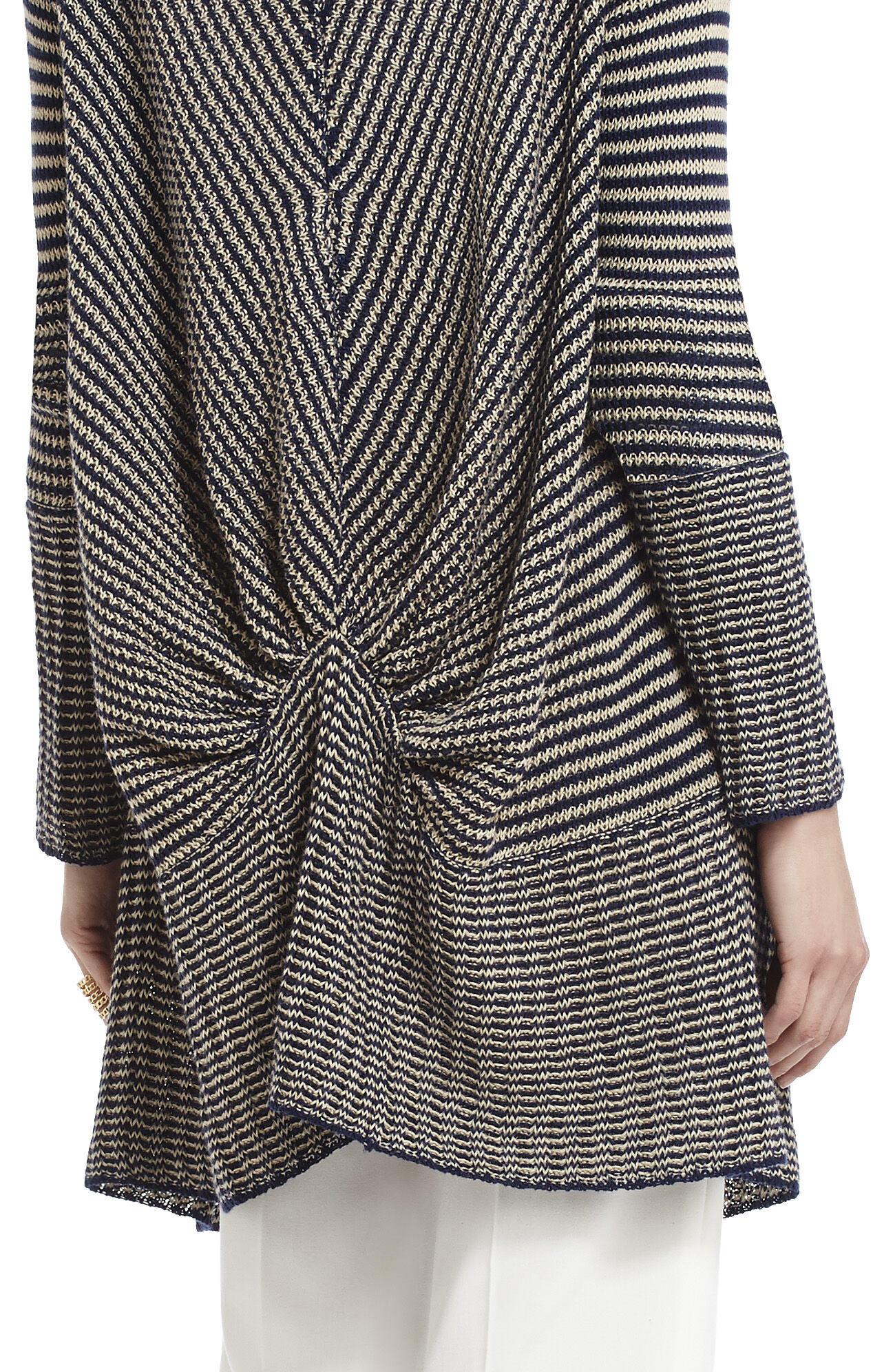 Watson Striped Cardi-Wrap