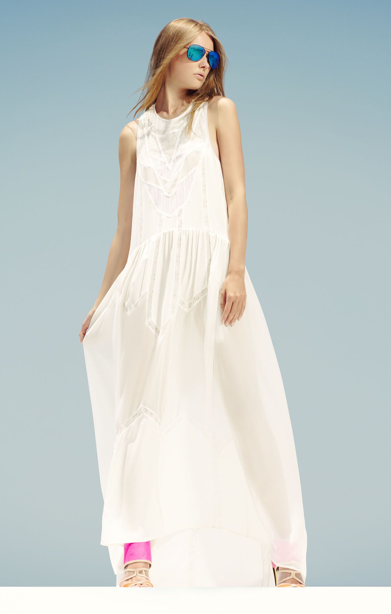 Runway Tahlia Sleeveless Panel Dress