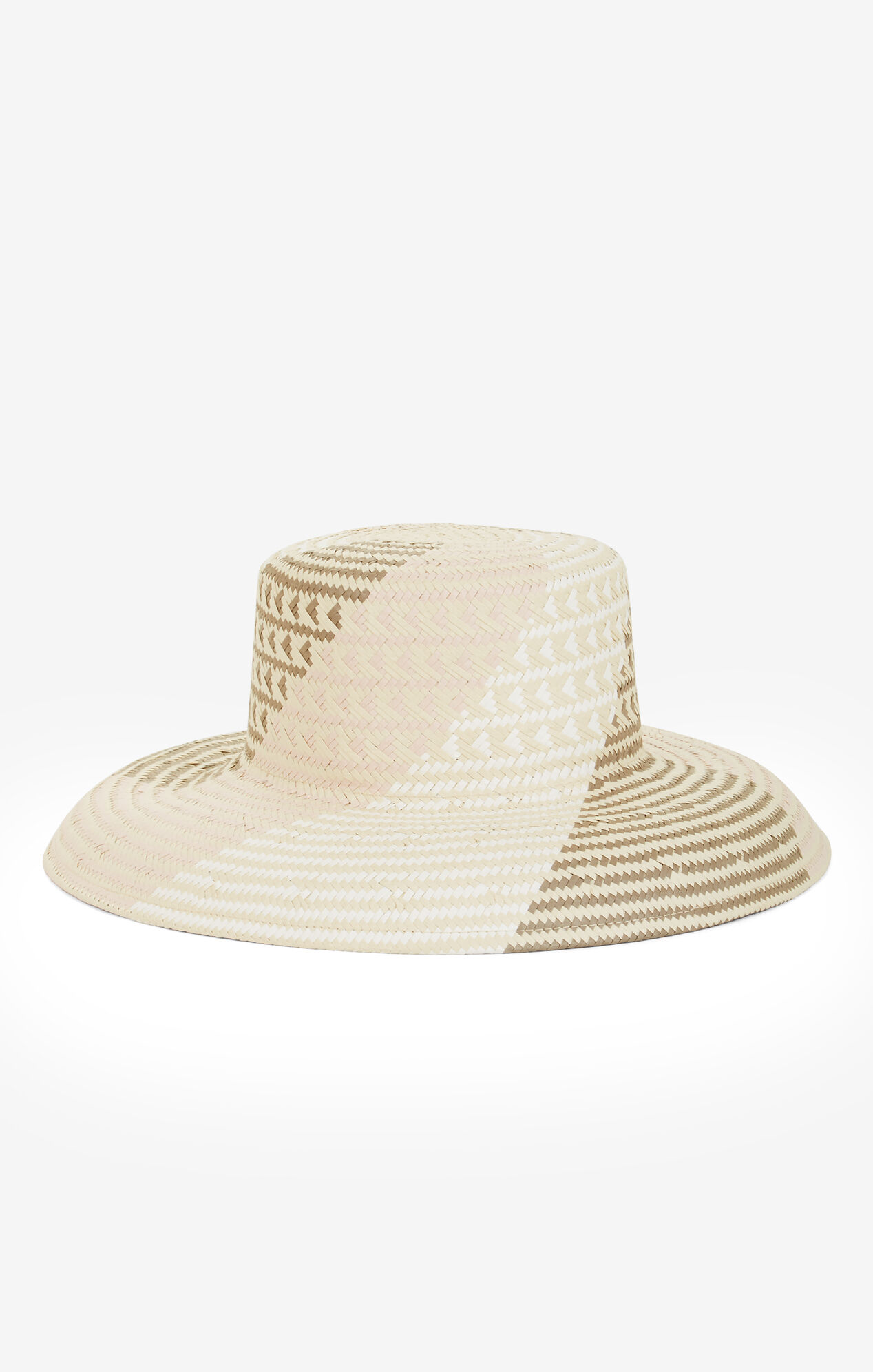 Oversized Straw Bucket Hat