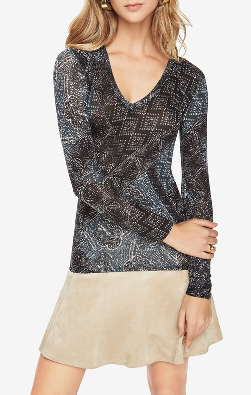 Jann Printed Top