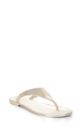 Sabba Metallic Thong Sandal