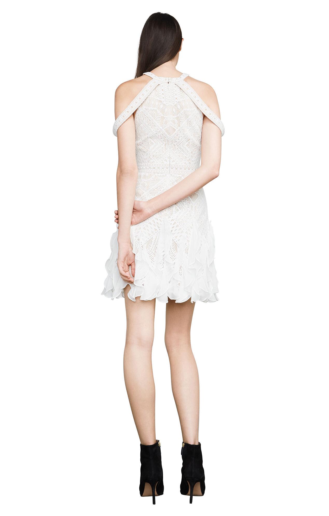 Leighann Cold-Shoulder Lace Dress