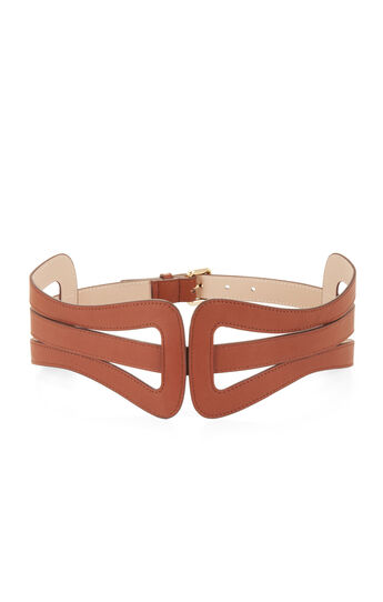 Cutout Buckle Waist Belt