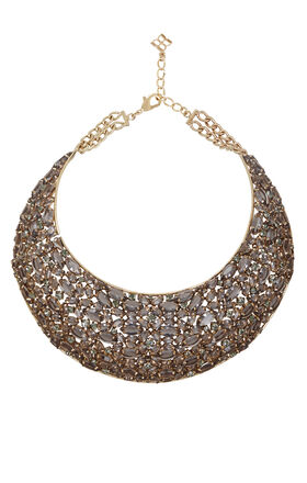 Statement Stone-Bib Necklace