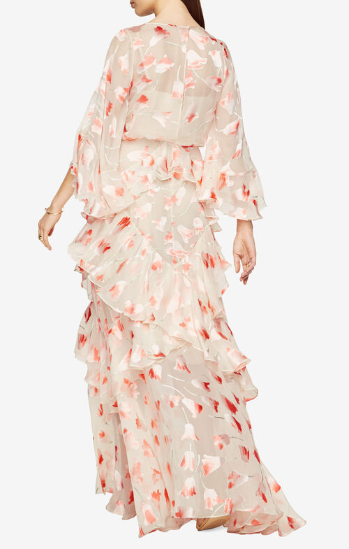 Margot Floral Print Gown