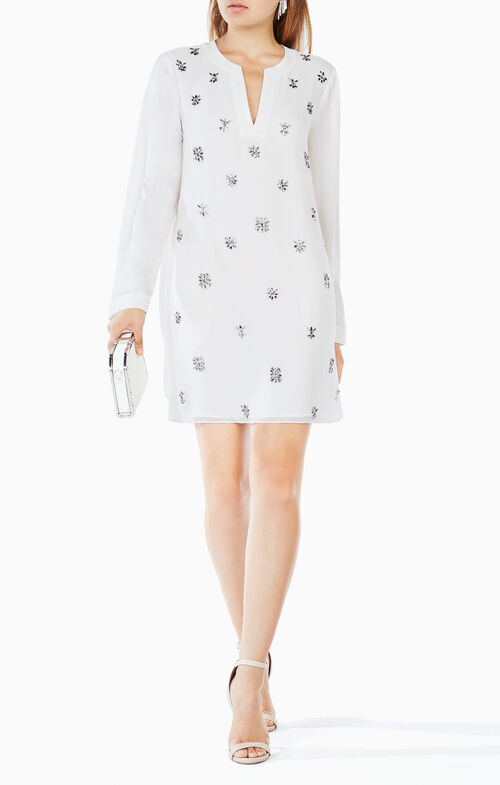 Dyannne Beaded Tunic Dress