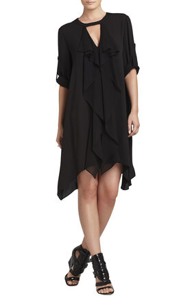Cynthia Cascade Ruffle Dress