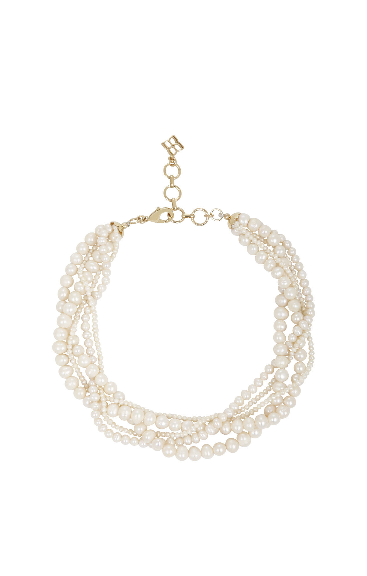 Multi Pearl-Strand Necklace