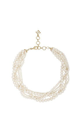 Multi Pearl-Strand Necklace