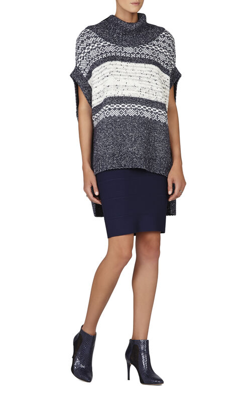 Elinor Fairisle Oversized Boxy Tunic