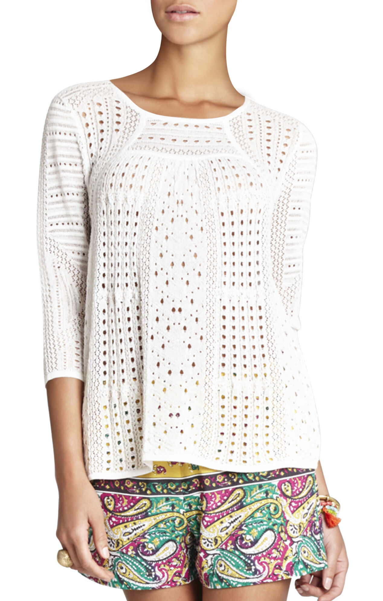 Kabele Pointelle Pullover