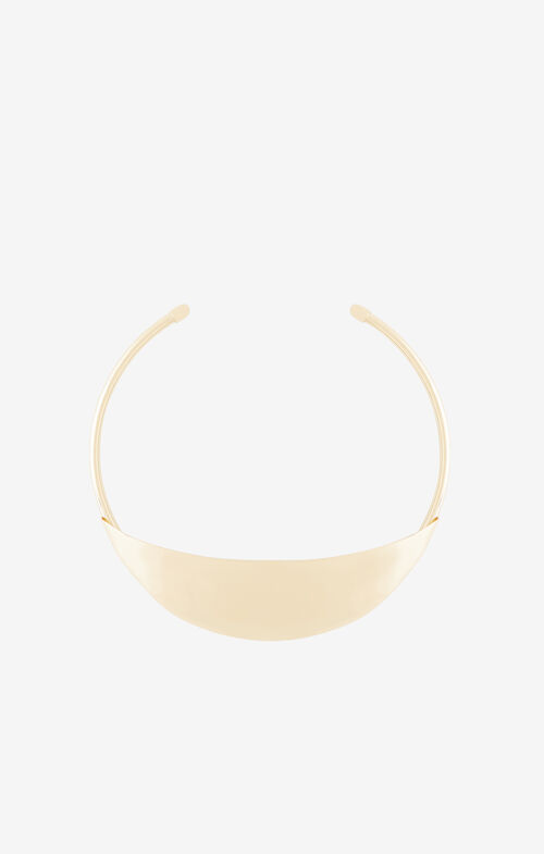 Plate Collar Necklace