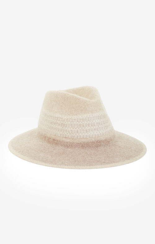 Tribal Knit Panama Hat