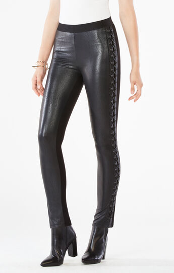 Jaims Faux-Leather Legging