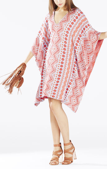 Kelby Jacquard Kaftan Dress