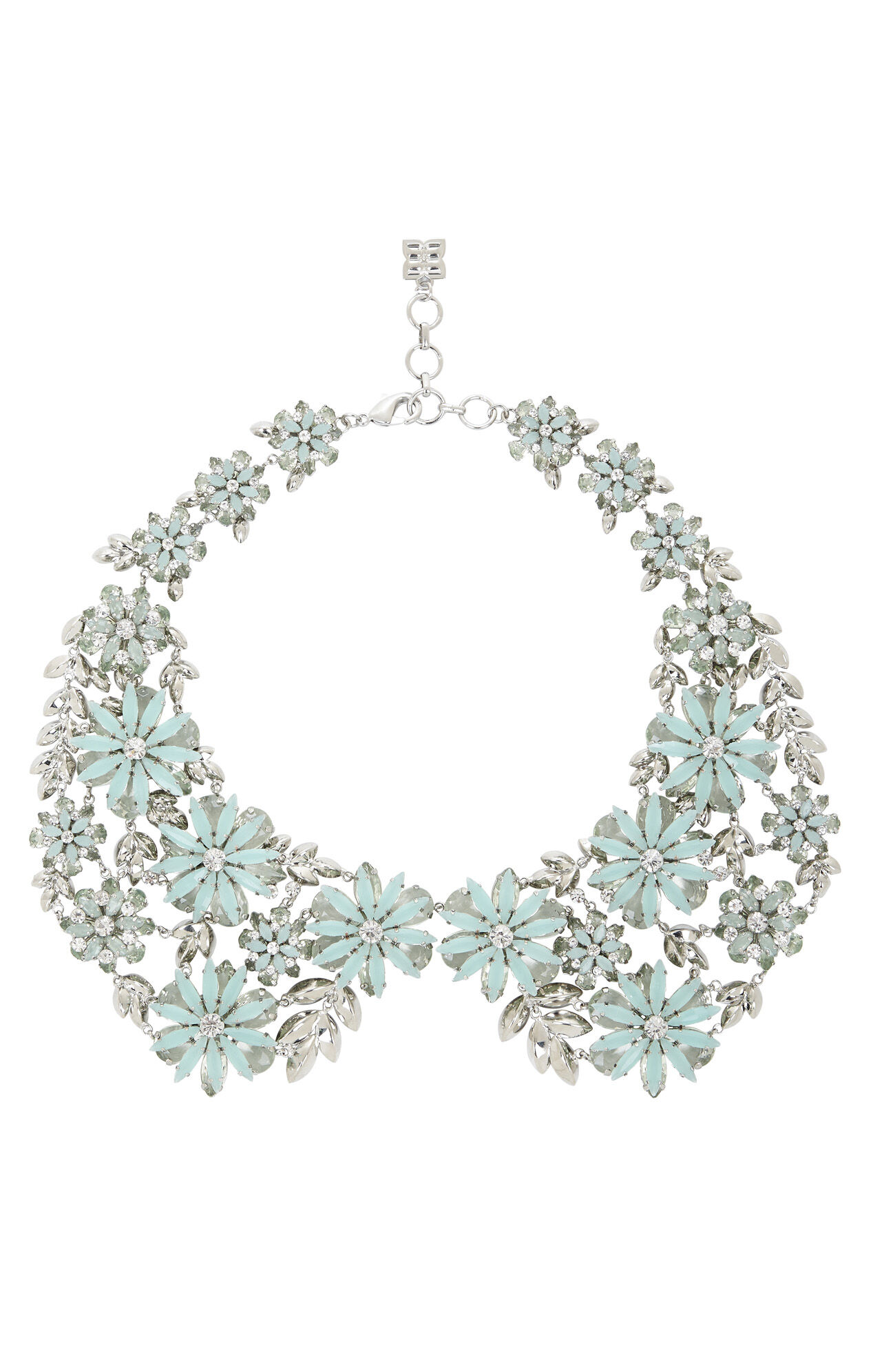 Floral Peter Pan Collar Necklace